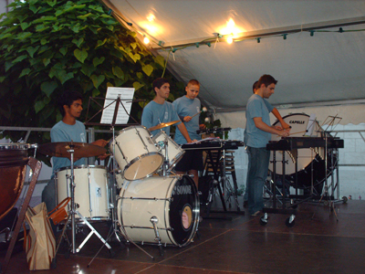 Percussions de l'Orchestre Junior